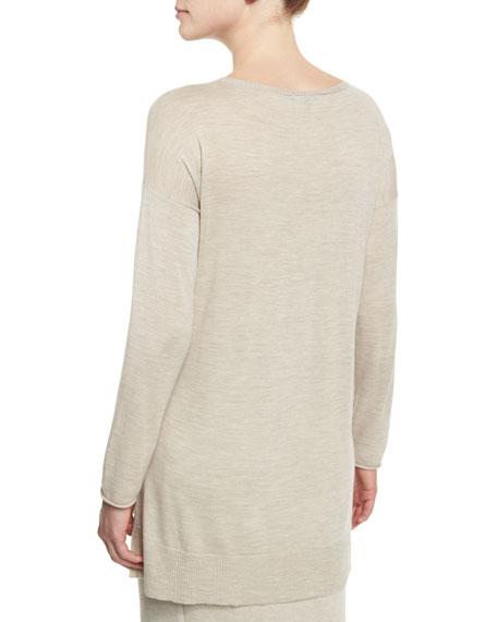 Long-Sleeve Luxe Merino Tunic