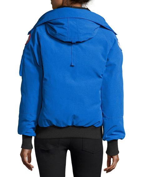 PBI Chilliwack Hooded Fur-Trim Parka, Royal Blue