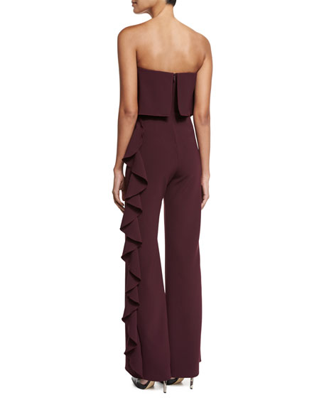 Kendall Strapless Ruffle Jumpsuit