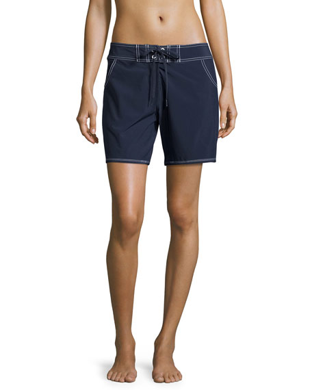 Seafolly Barracuda Boardshorts, Indigo