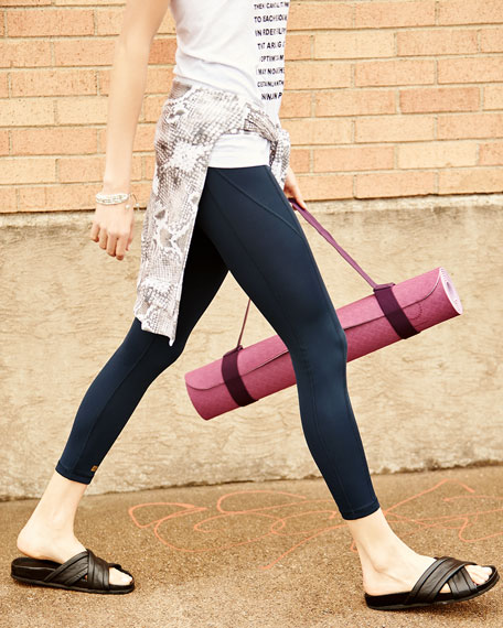 Paneled High-Rise Leggings