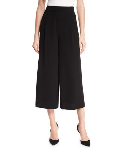 Holly Single-Pleat Culottes