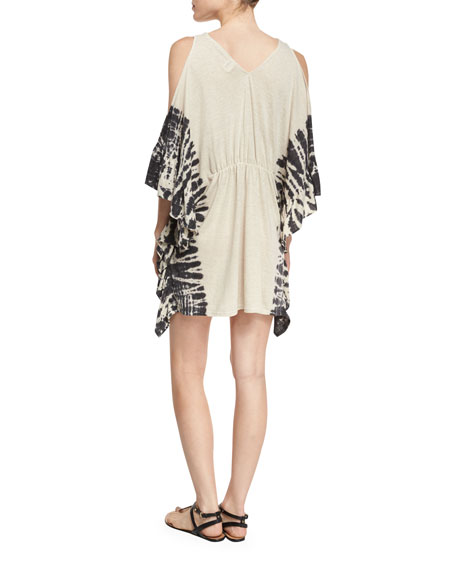 Free Spirit Cold-Shoulder Coverup, Natural