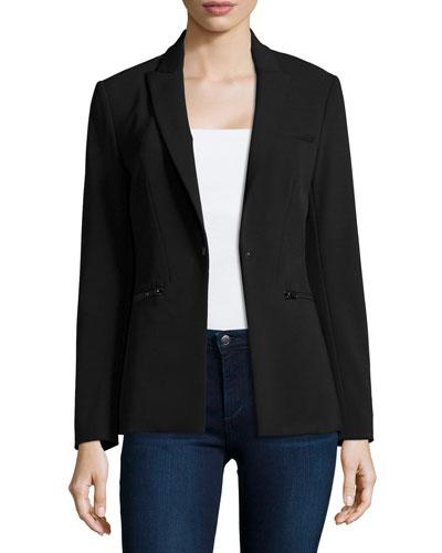 Scuba Jacket, Black