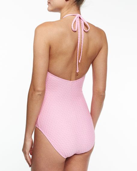 marina piccola high-neck one-piece swimsuit