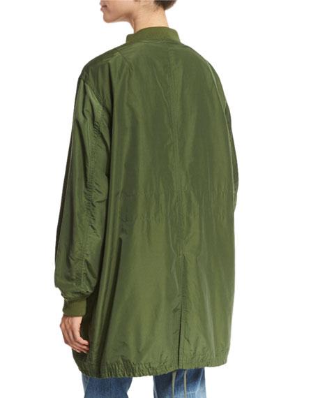 Oversized Parka Bomber Jacket