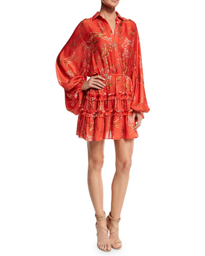 Floral In Dresses At Neiman Marcus