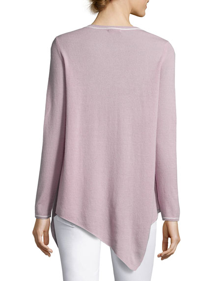 Tambrel Cashmere Asymmetric Sweater