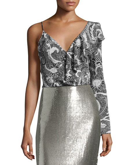 Diane von Furstenberg Pencil Skirt & Blouse