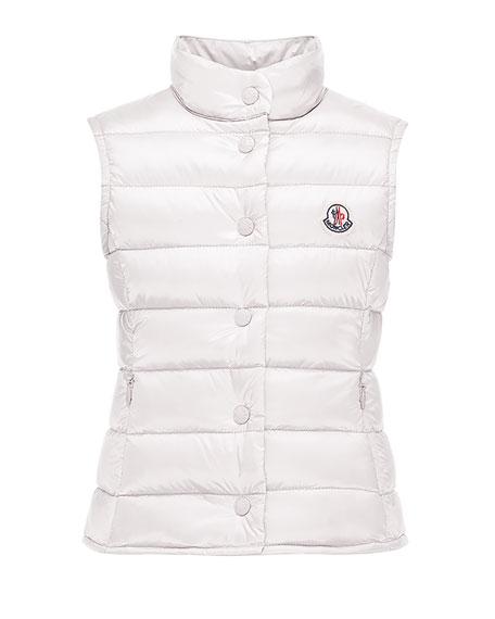 Liane Down Lightweight Puffer Vest, Size 8-14
