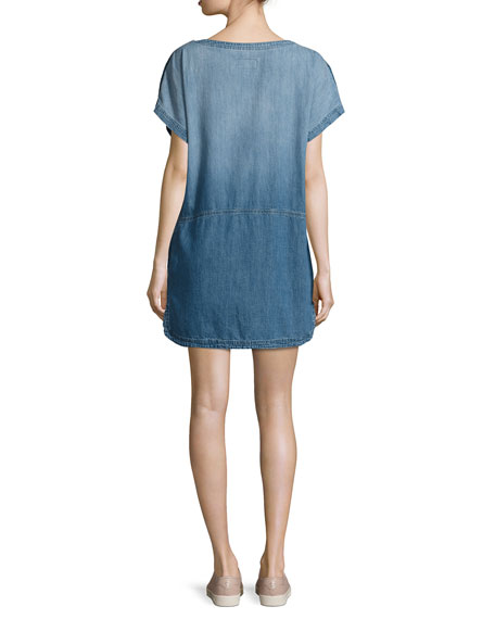 The Denim Tee Dress, Seto