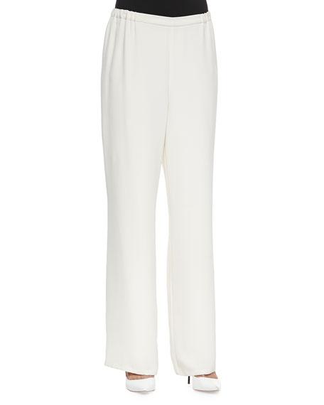 Go Silk Wide-Leg Pants