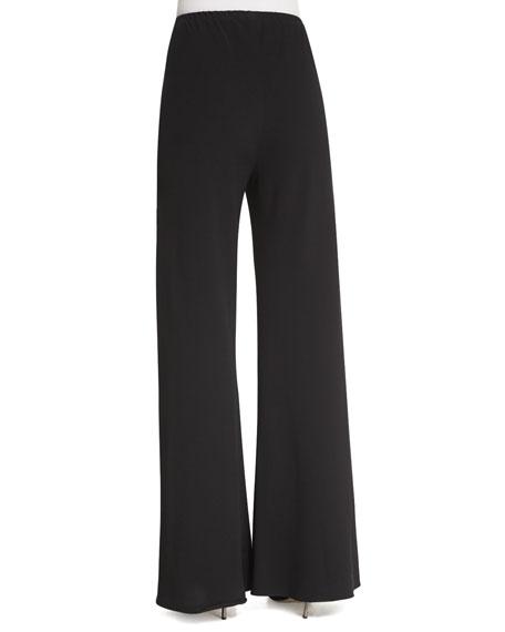 THE ROW Gala Straight-Leg Cady Pants