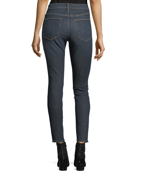 Image 2 of 3: FRAME Le High Skinny Jeans, Harvard