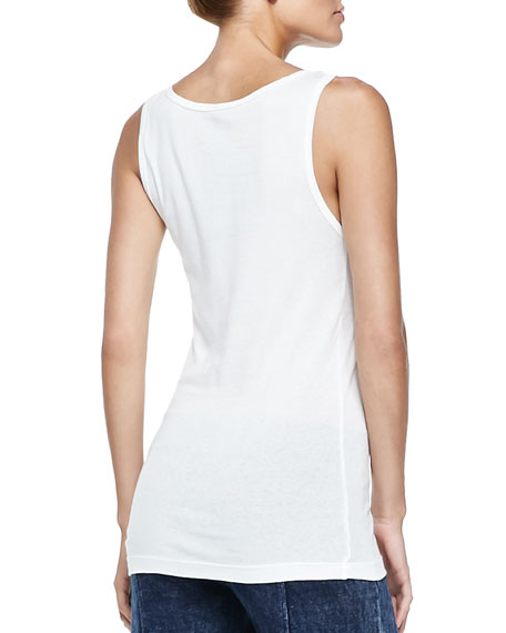 Basic Slim Cotton Tank
