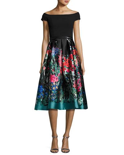 Carmen Marc Valvo Dresses &amp- Gowns at Neiman Marcus