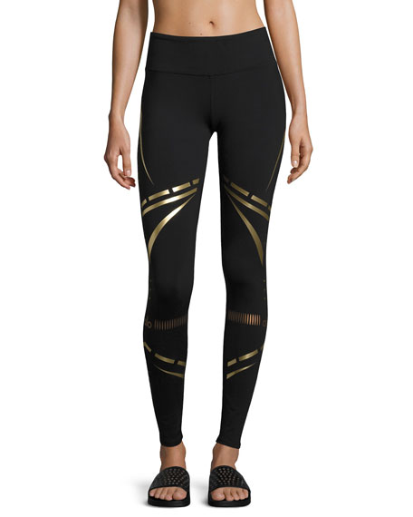 Alo Yoga Airbrush Printed Sport Leggings
