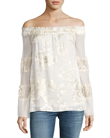 Kobi Halperin Charmaine Off-the-Shoulder Blouse