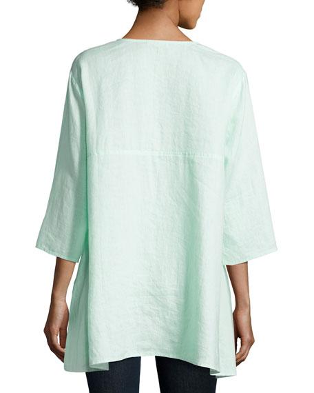 Organic Handkerchief Linen Tunic