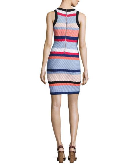 Parker Josephina Sleeveless Knit Mini Dress, Multi