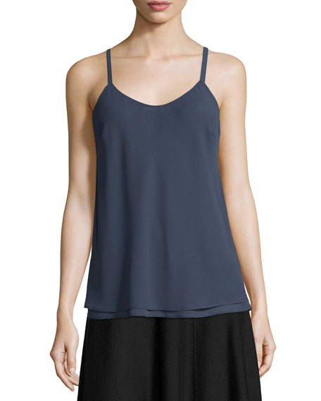 Paired Up Scoop-Neck Layered Tank, Plus Size