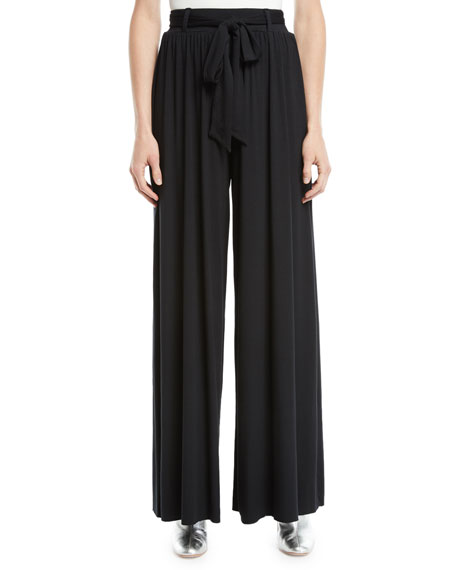 Rachel Pally Gibson Wide-Leg Drama Pants and Matching