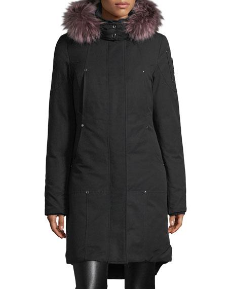 Moose Knuckles Ivex Valley Parka Coat w/ Fur
