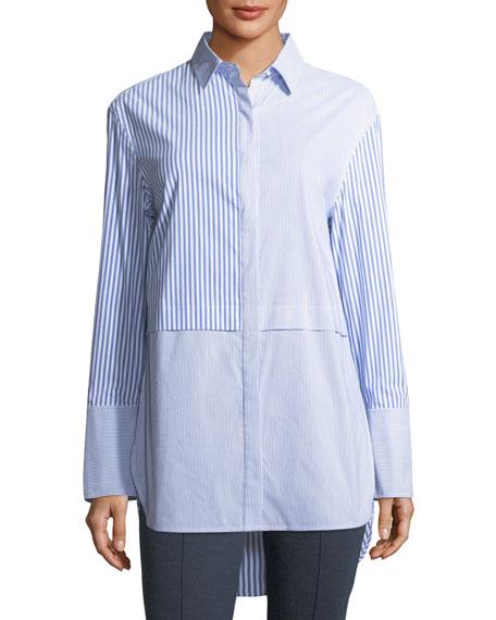 Striped Long-Sleeve Tunic