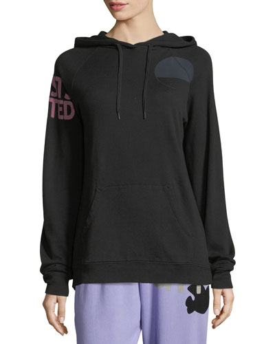 Paintbox Printed Graphic Pullover Hoodie