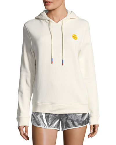 French-Terry Cotton Hoodie
