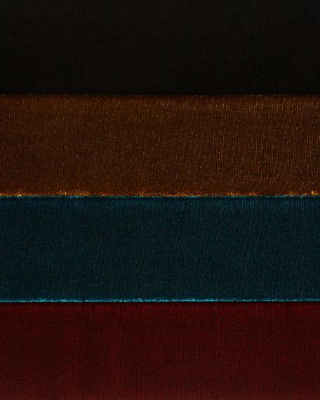 Velvet 3/4-Sleeve Box Top