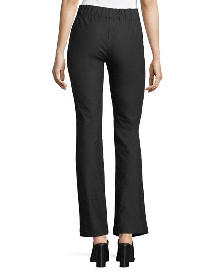 Nora Straight-Leg Pull-On Pants