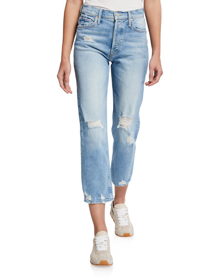 The Tomcat High-Rise Distressed Jeans
