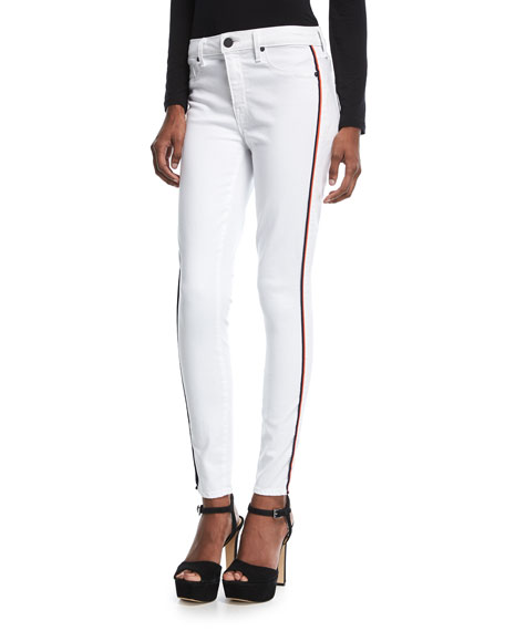 Parker Smith Ava Skinny Jeans w/ Racing Stripes