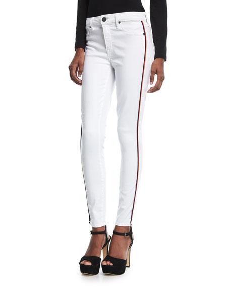 Parker Smith Ava Skinny Jeans w/ Racing Stripes