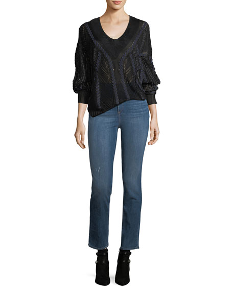 Rag & Bone High-Rise Slim-Fit Cigarette Jeans