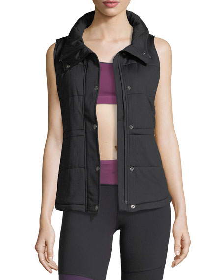 The North Face Pseudio Zip-Front Insulated Knit Vest