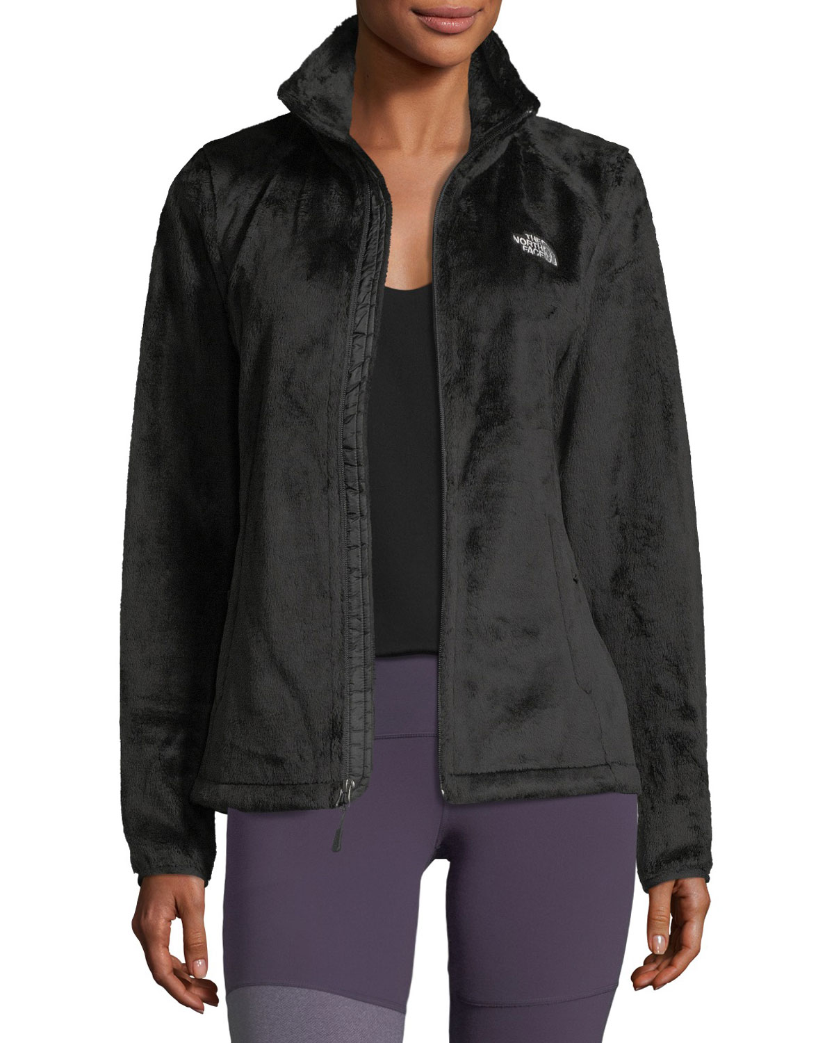 8264433b22 The North Face Osito Zip-Front Fleece Performance Jacket, Black ...