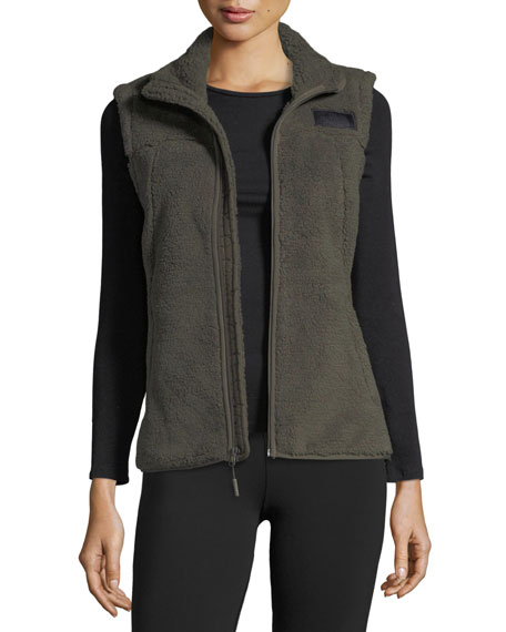 The North Face Campshire Zip-Front Performance Vest, Green