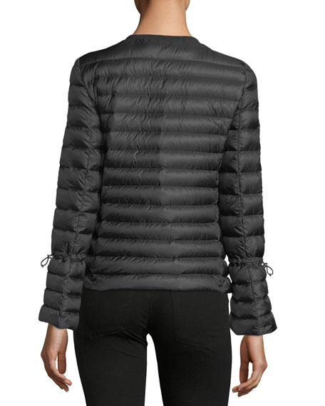 Alma Sequin Pocket Quilted Jacket