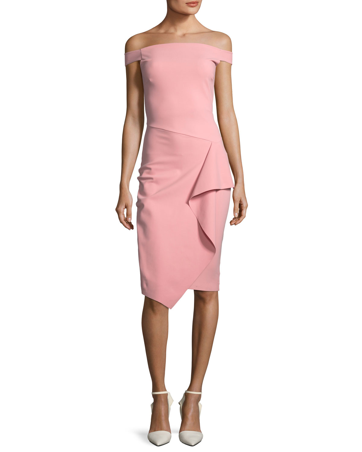 Pink Petite Cocktail Dress | Neiman Marcus