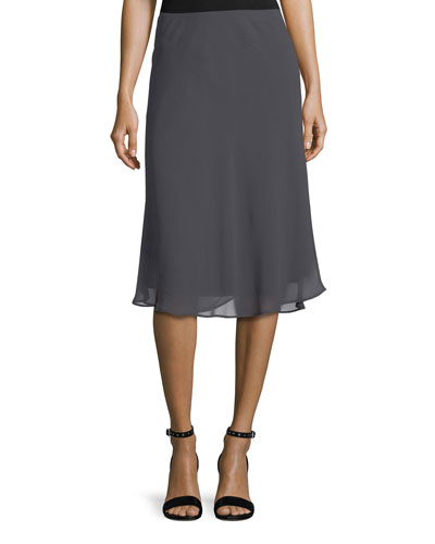 Petite Paired Up Twirl Pull-On Skirt