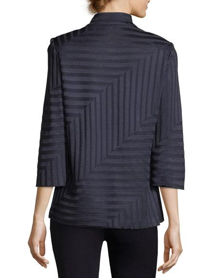 Subtle Lines 3/4-Sleeves Jacket