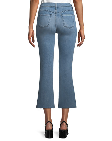 Selena Mid-Rise Crop Boot Jeans