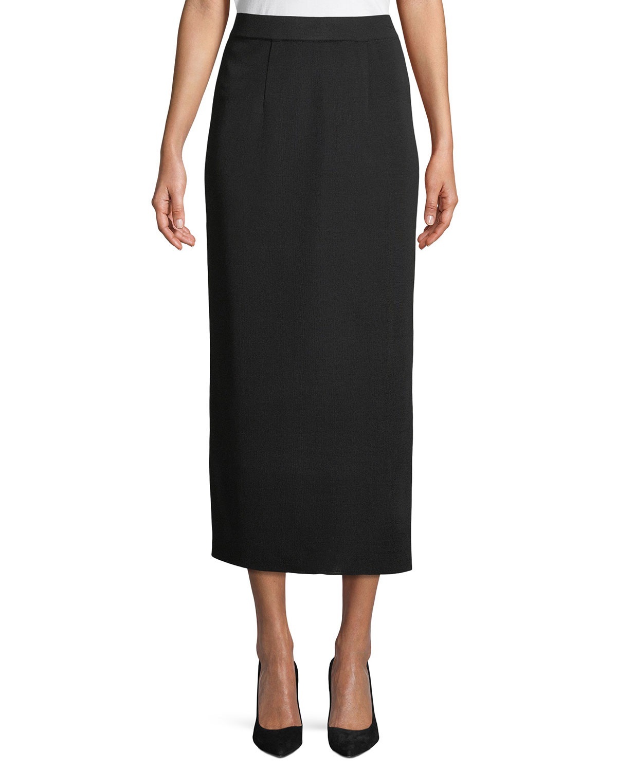 Misook Long Straight Skirt