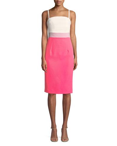 Olie Cutout Stretch-Crepe Dress