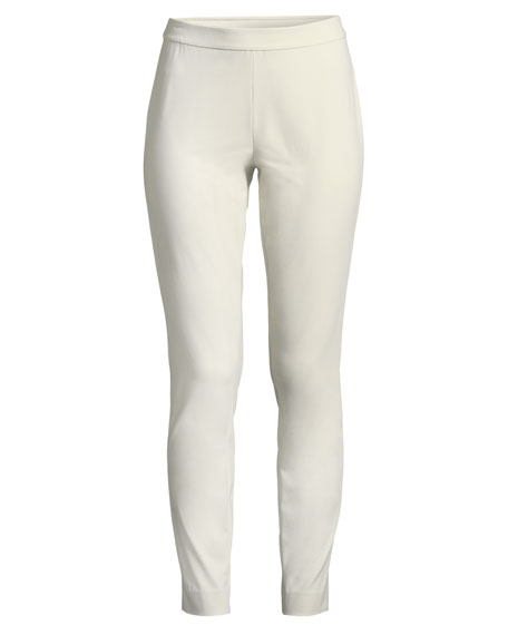 Image 4 of 4: Lafayette 148 New York Murray Techno-Stretch Twill Pants