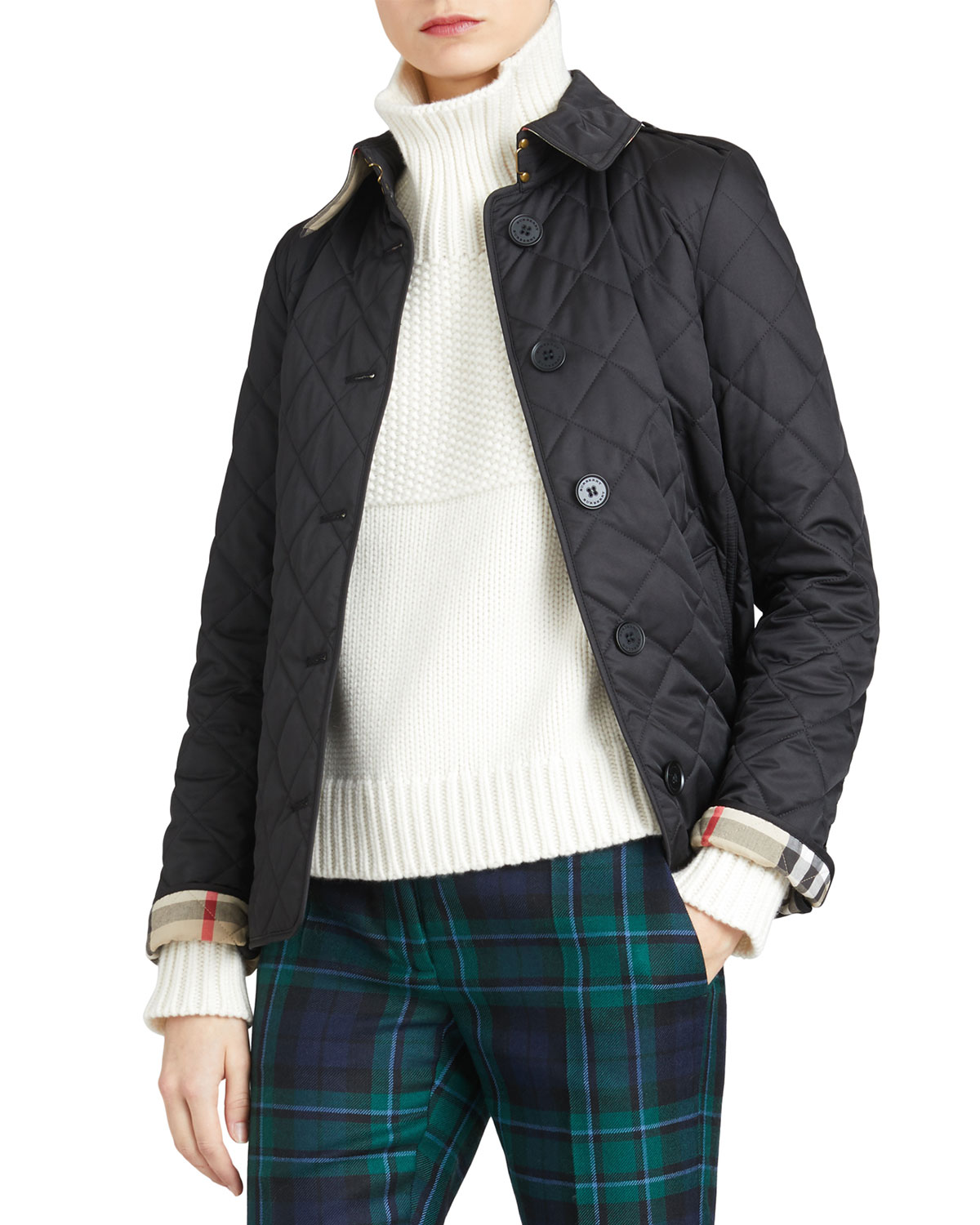 0b68ed66dd9 Burberry Frankby Quilted Jacket