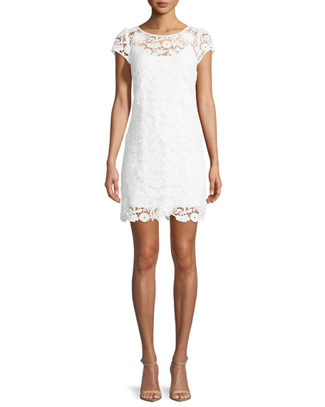 Image 1 of 3: Milly Chloe 3D Lace Dress