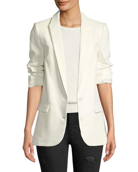 Viva Two-Button Embellished Blazer